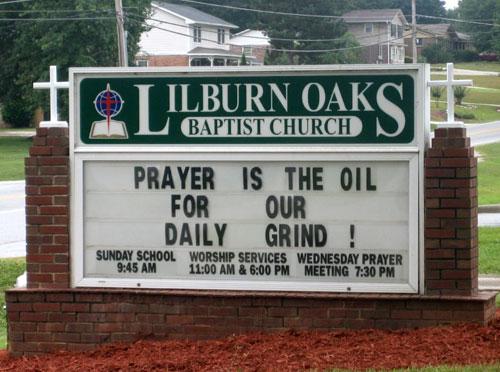 Worship times for Lilburn Oaks Baptist Church